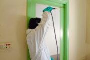 Fumigacion con micro encapsulado en residencia geriatrica