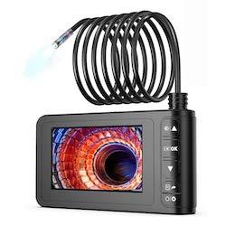 Endoscopio Industrial, Cámara de Inspección SKYBASIC 4.3 Pulgadas 1080p HD