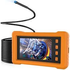 KZYEE pantalla IPS de vista completa de 4.3 pulgadas, cámara de inspección 2800mAh 1080P HD IP67 Cá...