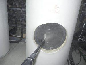 limpieza acumulador ACS Legionelosis
