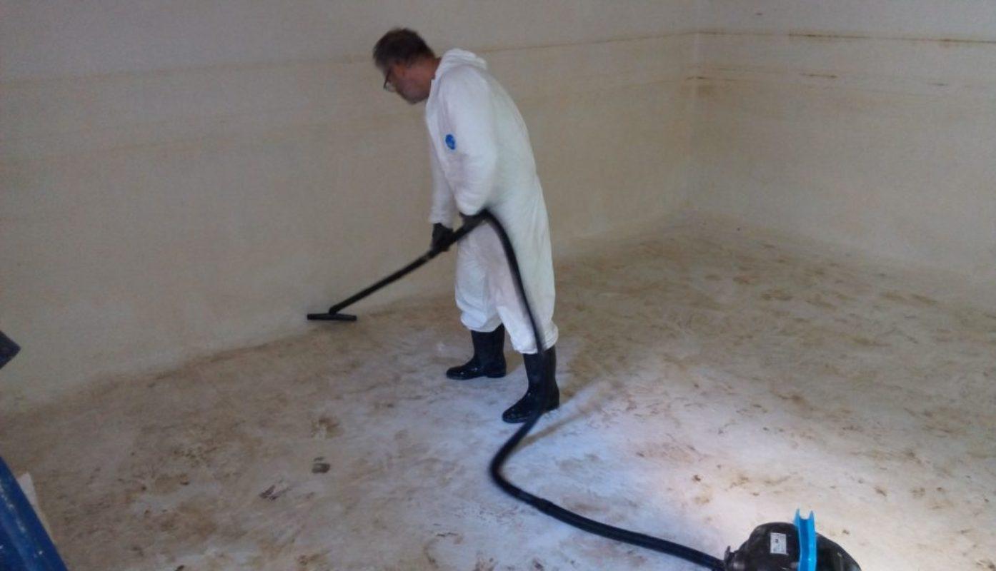 Limpieza y desinfección aljibes/depósitos