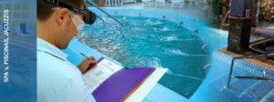 Spa-piscina con recirculacion, jacuzzis